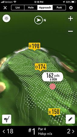GolfLogix GPS + Putt Breaks - GolfLogix - Putt Break Maps